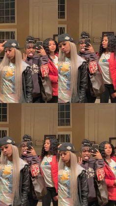 Go Best Friend, Best Friend Photos, Best Friend Goals, Matching Outfits Best Friend, Best Friend Outfits, Best Friends Aesthetic, Cute Friend Pictures, Cute Swag Outfits, Black Girl Aesthetic
