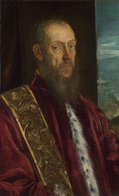 Portrait of Vincenzo Morosini by @arttintoretto #mannerism