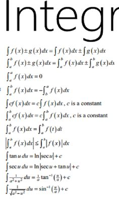 calculus cheat sheet - Google Search Calculus 2, Cheat Sheets, Cheating, Math Equations, Google Search, Learning, School, Studying, Teaching