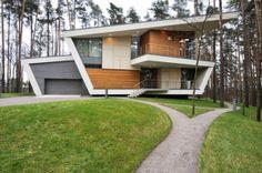 Modernes Haus Im High Tech Stil Landhaus Häuser Im Stil Von High Tech  Sorgen Immer Noch Für überraschte Und Zugleich Interessierte Ausblicke.
