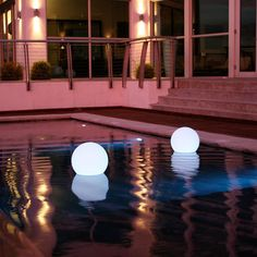 My design inspiration: Ball on Fab. These would be amaze-balls in my pond.