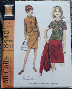 Fantastic Vintage sewing pattern from circa 1960s! Cut, but complete with instructions. ***Really want this pattern, but its the
