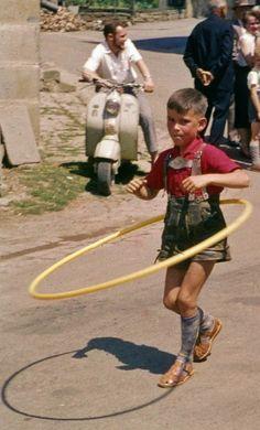Walddorfhäslach: 1960er Hula Hoop