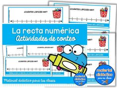 Tienda - Material Didactico para tus clases Map, Comics, At Word Family, Skip Counting Activities, Alphabetical Order, Question Mark, Collections Of Objects, Addition And Subtraction, Location Map