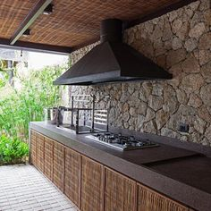 Pergola Ideas For Deck Product Modern Outdoor Kitchen, Backyard Kitchen, Indoor Outdoor Living, Outdoor Decor, Patio Roof, Pergola Patio, Cheap Pergola, Pergola Kits, Pergola Ideas