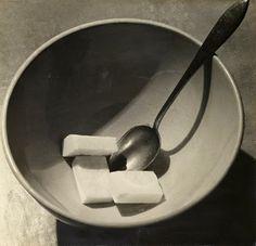 André Kertész (American, born Hungary, 1894 – 1985). [Bowl with Sugar Cubes]. 1928.