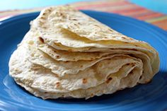 Homemade tortillas, easy recipe and very good. I'm never going back to store bought!