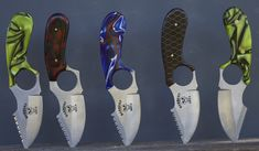 A neck knife could be your last line of defense. With sheath and chain $110.