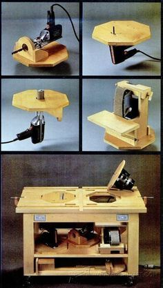 Power Tool Table - Workshop Solutions Projects, Tips and Tricks - Woodwork, Woodworking, Woodworking Plans, Woodworking Projects