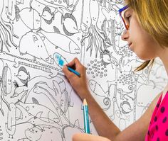 5 Coloring Wallpapers For Kids Let Them Use Their Imagination And Creativity Draw On