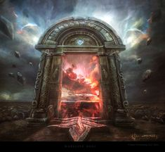 Gate of the Worldwound by Madboni on DeviantArt