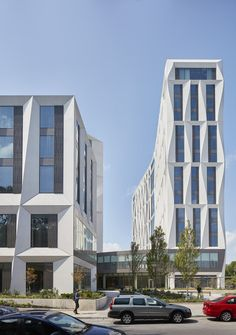 University of Chicago Campus North Residential Commons by Studio Gang
