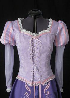 Rapunzel Custom Costume