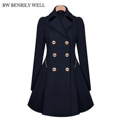 2017 New Womens Winter Coat Solid Office Lady Basic Loose Warm Thick Pockets Coat Gothic Elegant Casual Party Female Jackets Jetzt bestellen unter: https://mode.ladendirekt.de/damen/bekleidung/jacken/winterjacken/?uid=d69fbe45-da12-557a-884c-01e061f16505&utm_source=pinterest&utm_medium=pin&utm_campaign=boards #winterjacken #bekleidung #jacken