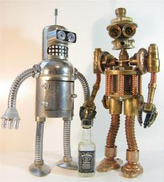 Great-great-great-grandfather robot Bender