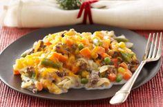 Creamy Beef & Noodle Bake Recipe - Kraft Recipes