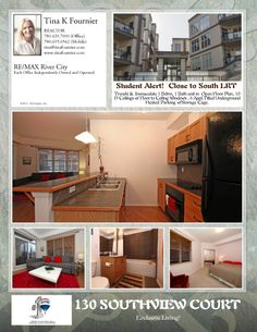 Student/Investor Alert!  Offered at $229,000 Floor Plans, The Unit, Student, Homes, Bath, Flooring, How To Plan, Houses, Bathing