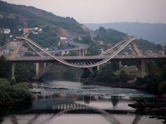 Cool bridge in Ourense, Spain -- Curated by: Ecora Engineering & Resource Group | 579 Lawrence Avenue Kelowna BC v1y 6l8 | 250-469-9757