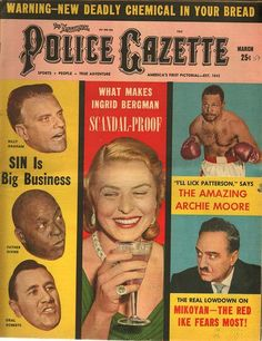 The National Police Gazette March 1959