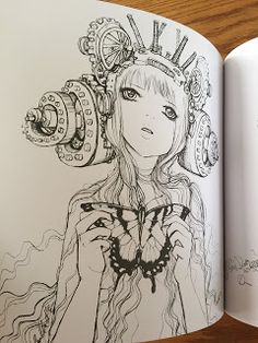 32 best Pop Manga Coloring Book images on Pinterest | Coloring books ...