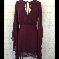 I just discovered this while shopping on Poshmark: NASTY GAL BOHO CHIC MAROON…