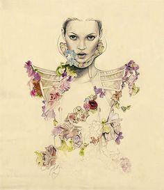 Kate Moss Cedric Rivrain