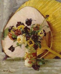 Maria Wiik Painting Still Life, Still Life Art, Female Painters, Pastel Portraits, New Artists, Portrait Art, Pansies, Art Oil, Inspiring Art