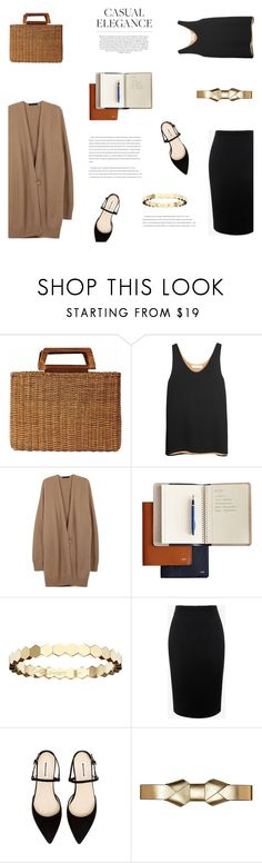 """""""TUESDAY"""" by canvas-moods ❤ liked on Polyvore featuring Salvatore Ferragamo, Chloé, The Row, Mark & Graham, Chaumet, Alexander McQueen, Marni, Whiteley and contemporary"""