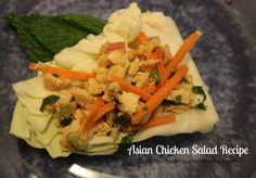 Asian Chicken Salad Recipe similar to Larb Gai