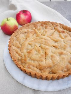äppelpaj-2 Sweet Pie, I Love Food, Apple Pie, Sweets, Cookies, Desserts, Recipes, Couscous, Yum Yum