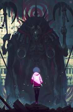 thecollectibles: Spirited - Corrupted (personal project) by Alexis Rives Dark Fantasy, Fantasy Art, Character Concept, Character Art, Arte Horror, Matte Painting, Art And Illustration, Fantasy Creatures, Character Inspiration