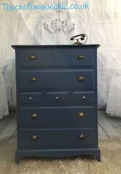 Upcycled Industrial Chic Stag Minstrel 7 Drawer Tallboy Chest ⭐️DELIVERY | eBay