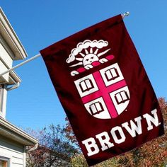 Brown Bears University College House Flag by College Flags and Banners Co.. $33.95. Brown University House Flag is 28x40 inches in size, is made of Two-Ply Nylon with Liner, has a top sleeve for insertion of a wood or aluminum flagpole, and the Double Sided Licensed NCAA School logos are screen printed into this Brown Bears University College House Flag.