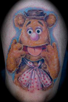 Fozzie Bear   Foolish Pride Tattoo Company