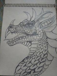 dragon easy drawing simple sketch drawings uploaded