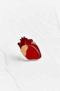 VERAMEAT Heart Pin