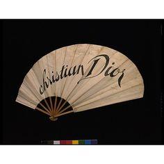 Dior fan (1950-1955)