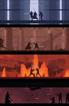 Star Wars Fights: The Phantom Menace-Rogue One