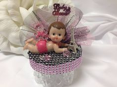 Paris Baby Shower Its A Girl Theme Mom to Be Cake Top Cake Topper  #Partystop #BabyShower