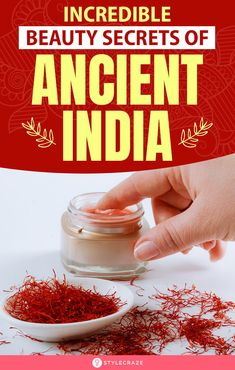 10 Incredible Ancient Indian Women Beauty Secrets for Fair Skin - - Are you looking for 'Chemical-Free' beauty secrets that can work wonders overnight? Check out these 10 incredible Ancient Indian beauty secrets here. Indian Beauty Secrets, Cleopatra Beauty Secrets, Indian Natural Beauty, Natural Beauty Tips, Natural Skin Care, Natural Makeup, Beauty Tips For Teens, Ancient Beauty, Fair Skin