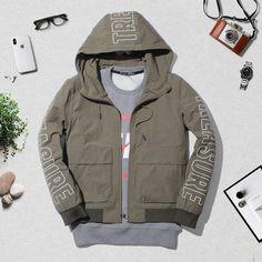 Army Green Bomber Jacket, Military Jacket, Jackets, Fashion, Down Jackets, Moda, Army Fatigue Jacket, Military Field Jacket, Fashion Styles