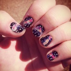Out of this world nail how to!