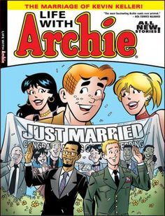 Worst fears realized by uptight Religious Right? Archie comics support the gay!