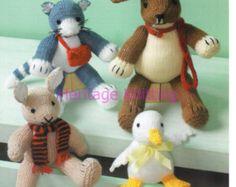 mixed toys dk knitting pattern 99p