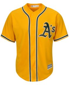 1e1c9b7afe4c4 Majestic Men s Oakland Athletics Replica Jersey   Reviews - Sports Fan Shop  By Lids - Men - Macy s
