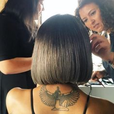 Jourdan Dunn from Met Gala 2016: Instagrams & Twitpics  Supermodel Jourdan Dunn made a case for the modern bob as she prepped for the big night.