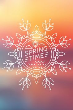 Poster - Spring Time