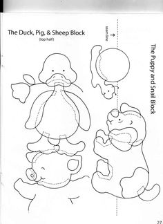 The Duck, Pig and Sheep block- part 1 of 2