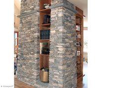 22 'Ledgestone' Stone Siding (New England Fieldstone) Stone Siding, Stone Columns, Stone Veneer, New England, Tall Cabinet Storage, Photo Galleries, New Homes, Architecture, Gallery