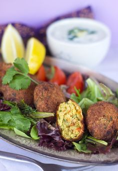 Roasted Red Pepper and Garlic Falafel- I've only had falafel once, and loved every second of it. I am sure a garlicky twist will make me fall in love even more!